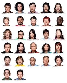 27 Europeans: can you tell where each of them are from?  http://one-europe.info/in-brief/27-europeans-can-you-tell-where-from#.UNJjDeTMBrU