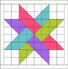 FREE tutorial for this woven star. It's the logo for Hidden Star Retreat.