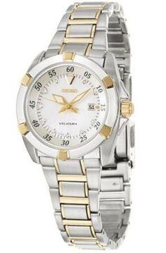 Seiko Women's SXDA68P1 Velatura Silver Dial Watch - http://www.specialdaysgift.com/seiko-womens-sxda68p1-velatura-silver-dial-watch/