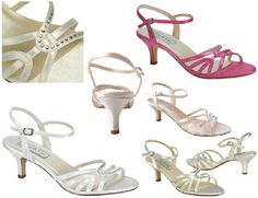 Bridal,Prom, Pageant Shoes, Dyeable Styles AT WORLD MALL BRIDAL DREAMS