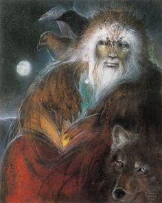 """""""Odin"""" par Susan Seddon Boulet"""