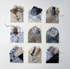 Shelley Rhodes - p r e c i o u s f r a g m e n t s Mixed Media Collage, Collage Art, Textiles, Books Art, Tea Bag Art, Envelope Art, Fabric Journals, A Level Art, Textile Artists