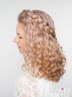 Hair Romance - How to braid curly hair - hair tips and tutorials