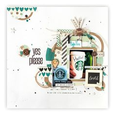 @CSMscrapbooker posted to Instagram: Feature Friday! Layout Designed by Marielle LeBlanc, from Dieppe, New Brunswick. Published in the Spring 2016 Issue of Creative Scrapbooker Magazine. YES PLEASE! Send us a coffee!!! Giggle Giggle! Pop on over to our profile and click on the smart.bio/csmscrapbooker for all the details! Love Drive, Sunflower Pattern, Scrapbook Cards, Scrapbook Layouts, Heartfelt Creations, Coffee Love, Layout Design, Cardmaking, Diy Crafts
