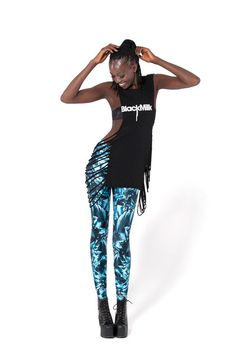 Sapphire Leggings › Black Milk Clothing