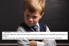 Creepy things kids say to their parents, you have to click this and read them!