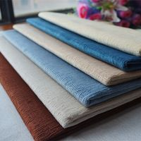 High quality embossed velvet fabric, home sewing decor DIY cloth. multi colors for option