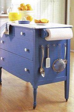 لو مطبخك خشب ممكن تستغلى الجوانب