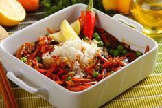 Ryż z warzywami po chińsku