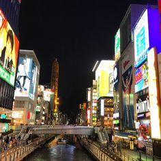 今日の平和!Peace For Today! 久しぶりのこの辺り (^_^) #today #peace #sky #osaka #japan #今日 #平和 #空 #大阪 #日本 #道頓堀 #doutonbori