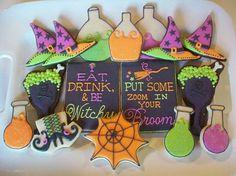 Cute Halloween cookies!