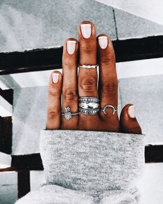 Semi-permanent varnish, false nails, patches: which manicure to choose? - My Nails Cute Nails, Pretty Nails, Hair And Nails, My Nails, Manicure E Pedicure, Body Chains, Nail Inspo, Spring Nails, Nails Inspiration