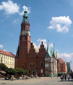 Breslau (Wroclaw), Rathaus (Ratusz)