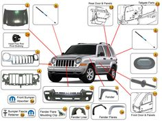 24 best jeep liberty kj parts diagrams images on pinterest jeep rh pinterest com 2005 jeep liberty parts diagram jeep liberty parts diagram schematic