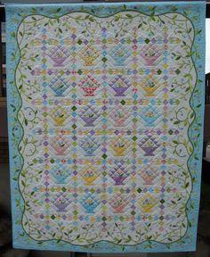 easter quilts | Easter Basket Quilt Pattern
