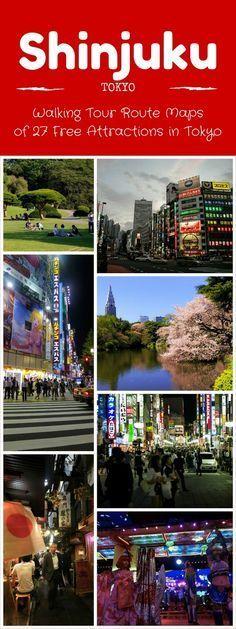 Explore Tokyo on a budget! Walking tour routes and maps for 27 free attractions in Tokyo.