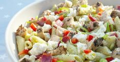 Hver gang vi spiser: Kremet pastasalat med kylling og bacon