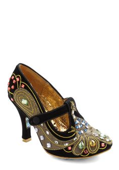 Peacock Pumps by Irregular Choice