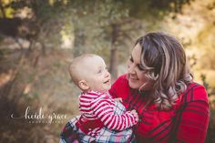 Christmas mommy and me session in Southern California mountains by Heidi Grace Photography. Fall family session, fall family photos, holiday session, holiday photos, Christmas card, Christmas session, outdoor photography, what to wear, merry Christmas.