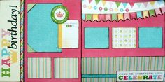 Birthday Girl Scrapbook Page Kit .:. Scraptique, Inc.