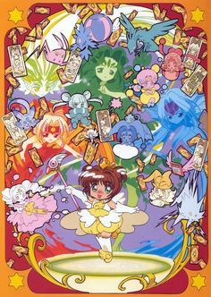 tsubasamay uploaded this image to 'Card Captor Sakura'. See the album on Photobucket. Cardcaptor Sakura, Magic Knight Rayearth, Haruhi Suzumiya, Xxxholic, Card Captor, Nichijou, Clear Card, Kawaii Chibi, Flower Cards