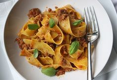 Authentic bolognese sauce. Update: WOW! This will ALWAYS replace regular spaghetti sauce... if I have the time. It was SO good!