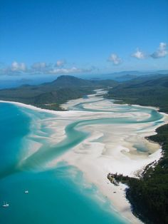 Whitehaven Beach, Whitsunday Islands - Australia