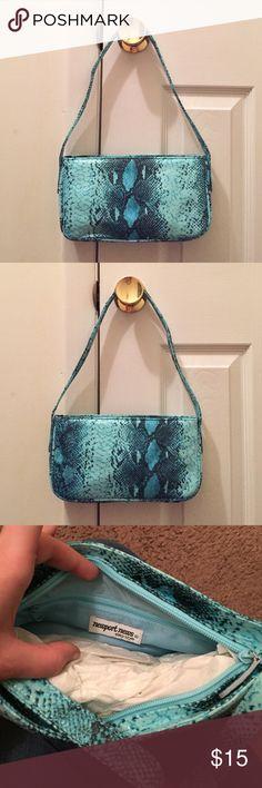 NWOT crocodile shoulder bag NWOT (New without tags) crocodile pattern shoulder bag. Faux crocodile. The softest most amazing feeling bag I've ever touched Newport News Bags Shoulder Bags