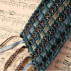 Ribbon scarf...beautiful Free Knitting Pattern, Free Scarf Knitting Pattern | DailyCraft - Your Daily Dose of Arts & Crafts Tips, Projects, & Inspiration. Quilting, Sewing, Knitting, Scrapbooking, Card Making and more!