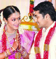 Filim Actors Actresses Surya Jyothika Wedding Album