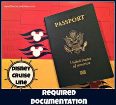 Required documentation and Customs regulations for Disney Cruise Line. Travel safe, cover all your bases to avoid any stress wondering. Disney Magic Cruise, Disney Cruise Ships, Disney Tips, Disney Love, Disney Ideas, Disney Disney, Cruise Tips, Cruise Travel, Cruise Vacation