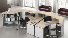 Recepció- és fogadóterek - Poziteam Executive Office Furniture, Module, Corner Desk, Conference Room, Table, Home Decor, Spaces, Inspiration, Receptions