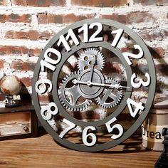 Настенные часы в стиле ЛОФТ - Интерьер, текстиль и ковры во Владивостоке