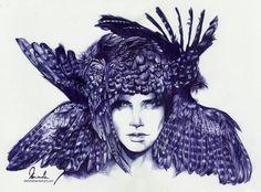 Beautiful artworks by Mel Fischer aka kleinmeli