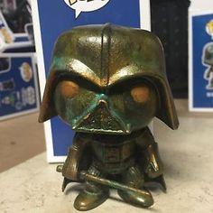 Funko Pop Vinyl Custom Patina Star Wars Darth Vader | eBay