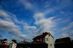 Bizzare cloudformations above Stavanger. June 2016