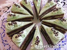 Hungarian Cake, Hungarian Recipes, Hungarian Food, Nutella, Cake Recipes, Pudding, Pie, Sweets, Cookies