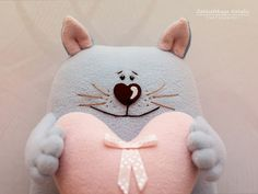Красивые Игрушки Затинацкой Натальи: Коты & Кошечки