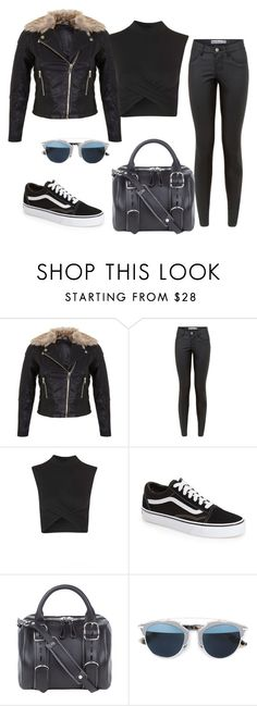 """""""Untitled #223"""" by charlotte-down on Polyvore featuring Miss Selfridge, Topshop, Vans, Alexander Wang and Christian Dior"""