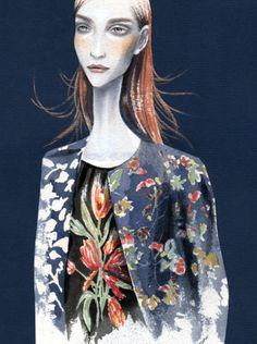 Dries-van-noten Fashion Illustrations, Collages, Illustration Art, Sketches, Van, Pets, My Style, Artist, Beauty