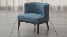 Grayson Chair | Crate and Barrel like the red color
