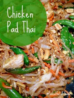 Easy Chicken Pad Thai Recipe - Pocketful of Sugar
