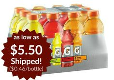 Gatorade Original Thirst Quencher Variety Pack 12 Count as low as $5.50 Shipped!