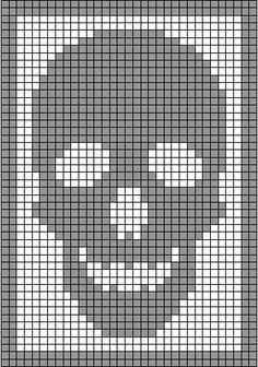 I& got an early Halloween surprise for you, my peeps. Remember my skeleton antimacassar ? That Monster Crochet filet crochet classic? Skeleton Antimacassar Charts by MonsterCrochet on Etsy Monster Crochet New Charts Available From Head Toe The Skeleton co Filet Crochet, Graph Crochet, C2c Crochet, Tapestry Crochet, Crochet Stitches, Crochet Diagram, Cross Stitching, Cross Stitch Embroidery, Cross Stitch Patterns