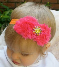 SALE Baby Headband Newborn Headband Toddler by CasualCutie on Etsy, $12.00
