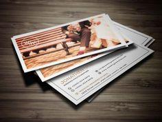 Nice Wedding Photography business card 14