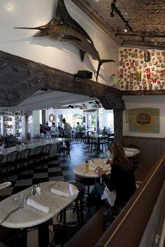 Salitos Crab House Prime Rib 1200 Bridgeway, Sausalito, CA Mid Century Modern Decor, Midcentury Modern, Prime Rib Restaurant, Crab House, Over The Bridge, Napa Valley, Gingerbread Man, Places Around The World, Northern California