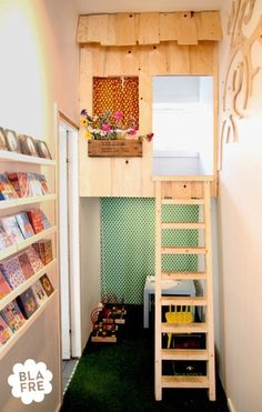 Ashbee Design: Kid's Nook  For that wee space you don't know what to do with.  www.cherylsteimel.com
