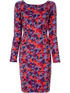 KARL KARL LAGERFELD Camouflage Dress