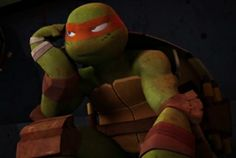 Mikey :) Tmnt Mikey, Tmnt 2012, Eat Pizza, Michelangelo, Teenage Mutant Ninja Turtles, Life